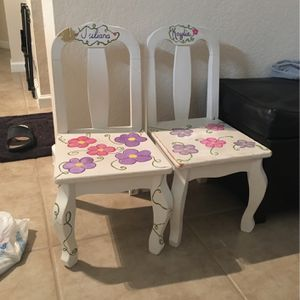 2 Kids Chairs In Need Of Some Love for Sale in Fort Pierce, FL