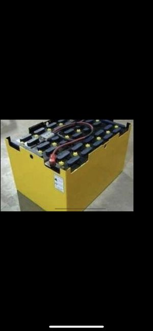 36 volts forklift battery for Sale in Chula Vista, CA