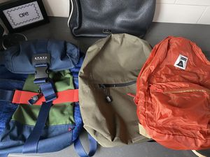 Various Backpacks/Bags/Purse - State, Kate Spade, Lo and Sons, Poler for Sale in Seattle, WA