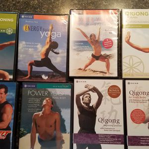 Multiple Workout, Yoga And QIgong DVD's for Sale in Dunedin, FL