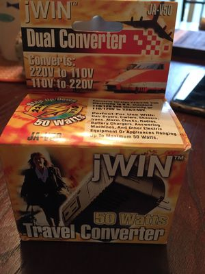 Jwin - Travel converter for Sale in Arlington, VA