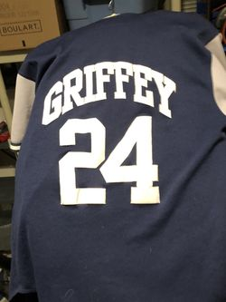 Ken Griffey Mariners Large Vintage Jersey for Sale in Everett,  WA