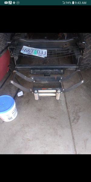 Winch mount reciever for Sale in Willoughby, OH