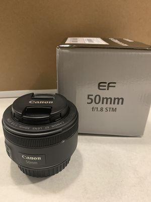 Canon 50mm EF f/1.8 lens for Sale in Nashville, TN