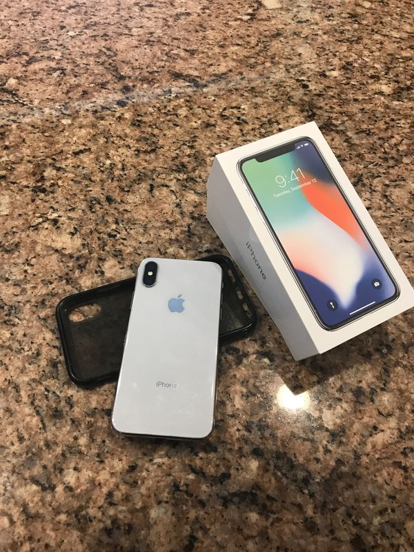 IPhone X 256GB Silver like NEW Unlocked