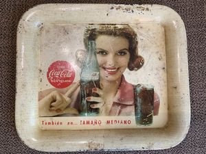 Coca Cola antique tray for Sale in Poolesville, MD
