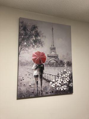Large Paris Painting !! for Sale in Durham, NC