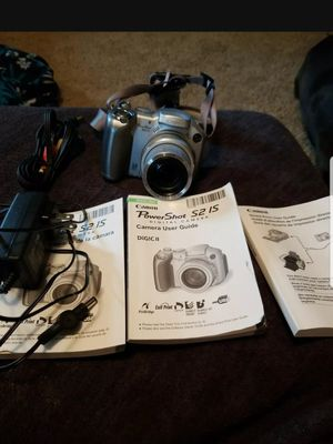 anon PowerShot S2 IS 5.0MP Digital Camera - Silver TESTED WORKING for Sale in Wooster, OH