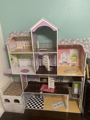 KidKraft doll house kids playhouse for Sale in Rialto, CA
