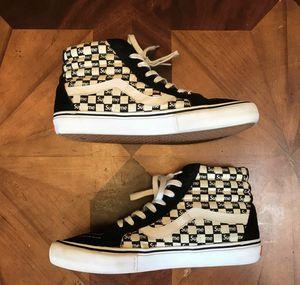 Supreme x Sk8-Hi Pro 'Checkered Black' Vans Size 12 for Sale in Los Angeles, CA