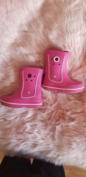 Girls rain boots crocs for Sale in Miami, FL