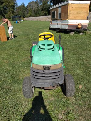 John Deere tractor with tiller for Sale in Painted Post, NY