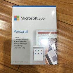 Microsoft 365 Personal (2020 - New) for Sale in Fremont,  CA