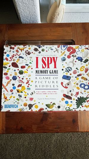 I SPY Memory Game/Used for Sale in Pomona, CA