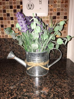 Watering Can Flower Pot for Sale in Frederick, MD