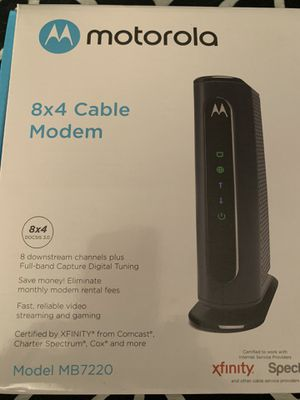 Cable modem for Sale in Manalapan Township, NJ
