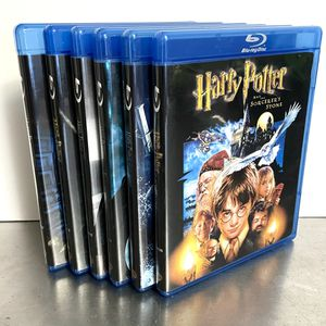 Harry Potter Blu-ray Movie Collection Set 1-6 for Sale in Nashville, TN