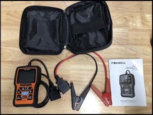OBD II engine code reader and battery tester for Sale in Daly City, CA
