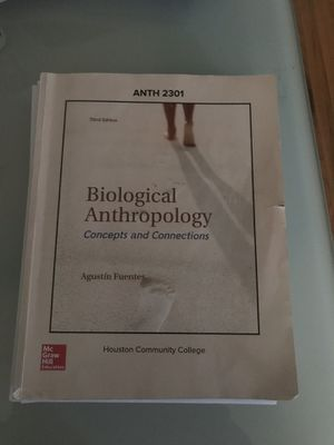 Biological Anthropology 2301 textbook for Sale in Houston, TX