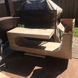 For Parts Or Repair Travertine Console Table for Sale in Carrollton,  TX