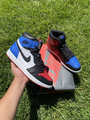 Jordan 1 Retro Top 3 Size: 10.5 for Sale in Los Angeles, CA