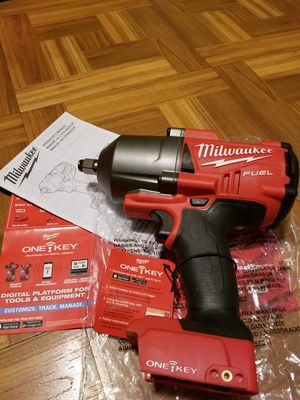 """Milwaukee 1/2"""" Impact Wrench Brushless Fuel 1400lbs ONE KEY M18 for Sale in Norwalk, CA"""