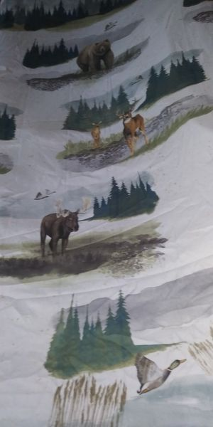 New Shower Curtain-Wildlife for Sale in Anaconda, MT