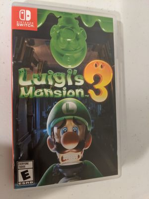 Luigi's Mansion 3 for Switch for Sale in Puyallup, WA
