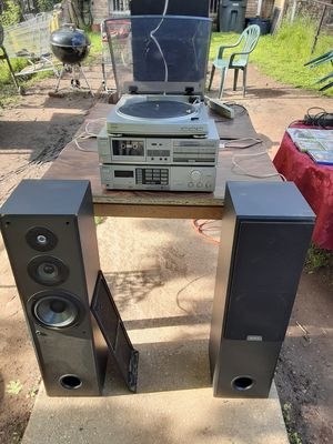Aiwa and Sony 200 watts stereo system for Sale in Washington, DC