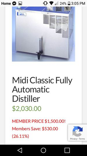 Water distiller for Sale in Tulsa, OK