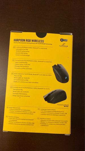 Corsair Harpoon RGB Wireless Gaming Mouse for Sale in Lombard, IL