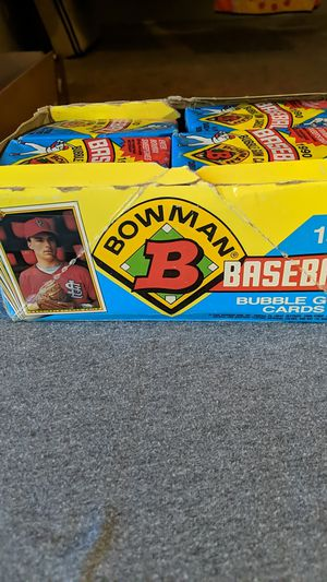 Basseball cards 1990. Whole box. for Sale in Mobile, AZ