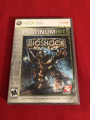 Xbox 360 Bioshock Platinum Hits for Sale in Irvine, CA