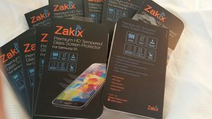 Tempered glass screen protectors samsung galaxy s5 iphone 6 and 6 plus for Sale in Cupertino, CA