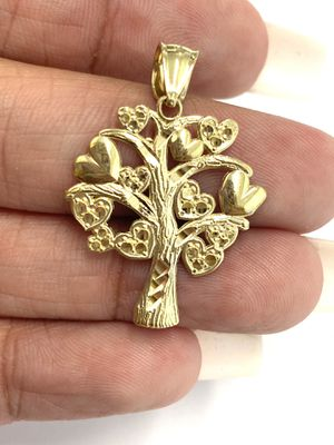 10K Gold tree charm pendant for Sale in Los Angeles, CA