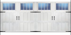 "16'x7'-6"" garage door used like new for Sale in Fresno, CA"