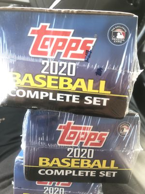 2020 Topps Baseball comeplete set factory sealed for Sale in Pasadena, TX