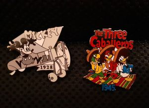 Disney lapel pins for Sale in Mount Nebo, WV