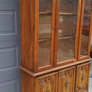 China Cabinet | 6ft Tall x 43 Inches Wide x 14.5 Deep for Sale in Houston, TX