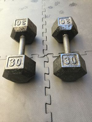 Dumbbells 30's for Sale in Downey, CA