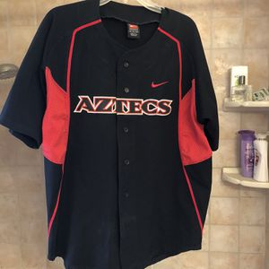 Genuine SDSU Nike Baseball Jersey, Size 46, Number 9 for Sale in San Diego, CA