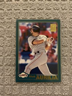 Rich Aurilia San Francisco Giants 2001 Topps 50 Years Of Baseball for Sale in Federal Way,  WA