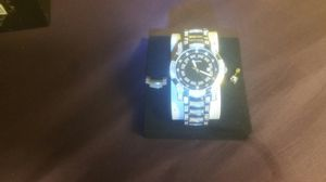 Bulava diamond watch .....and matching diamond earring....plus extensive link if need be crystal face none scratched ...... for Sale in Long Beach, CA