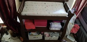 Changing table with shelves for Sale in Mesquite, TX