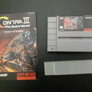 Contra III: The Alien Wars - SNES for Sale in Phoenix, AZ