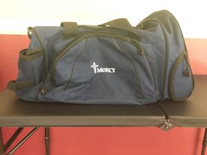 Duffle/Gym Bag - Navy Blue with Mercy Logo for Sale in Saint Charles, MO