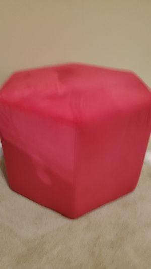 Pink Ottoman for Sale in Laurel, MD