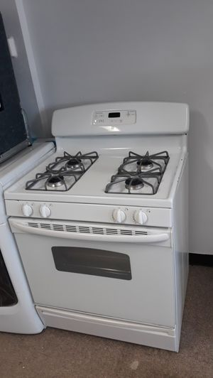 White gas stove excellent condition for Sale in Laurel, MD