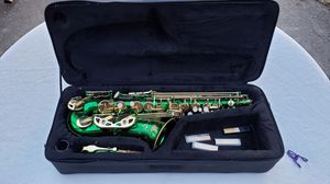 Saxophone with case for Sale in Rhinelander, WI