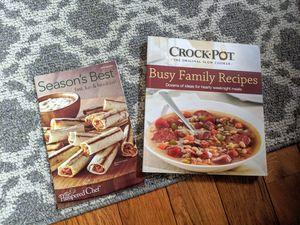 Pampered Chef and Crock-Pot Cookbooks for Sale in Harrisonburg, VA